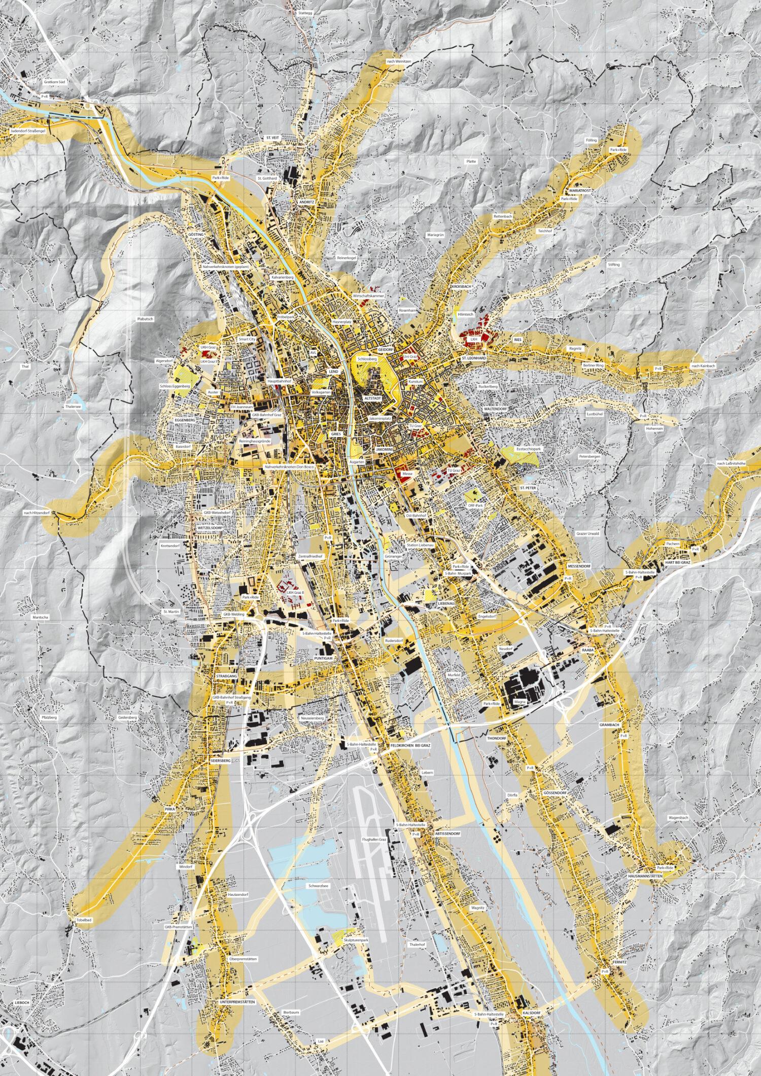 Radoffensive Graz 2030 © Artgineering