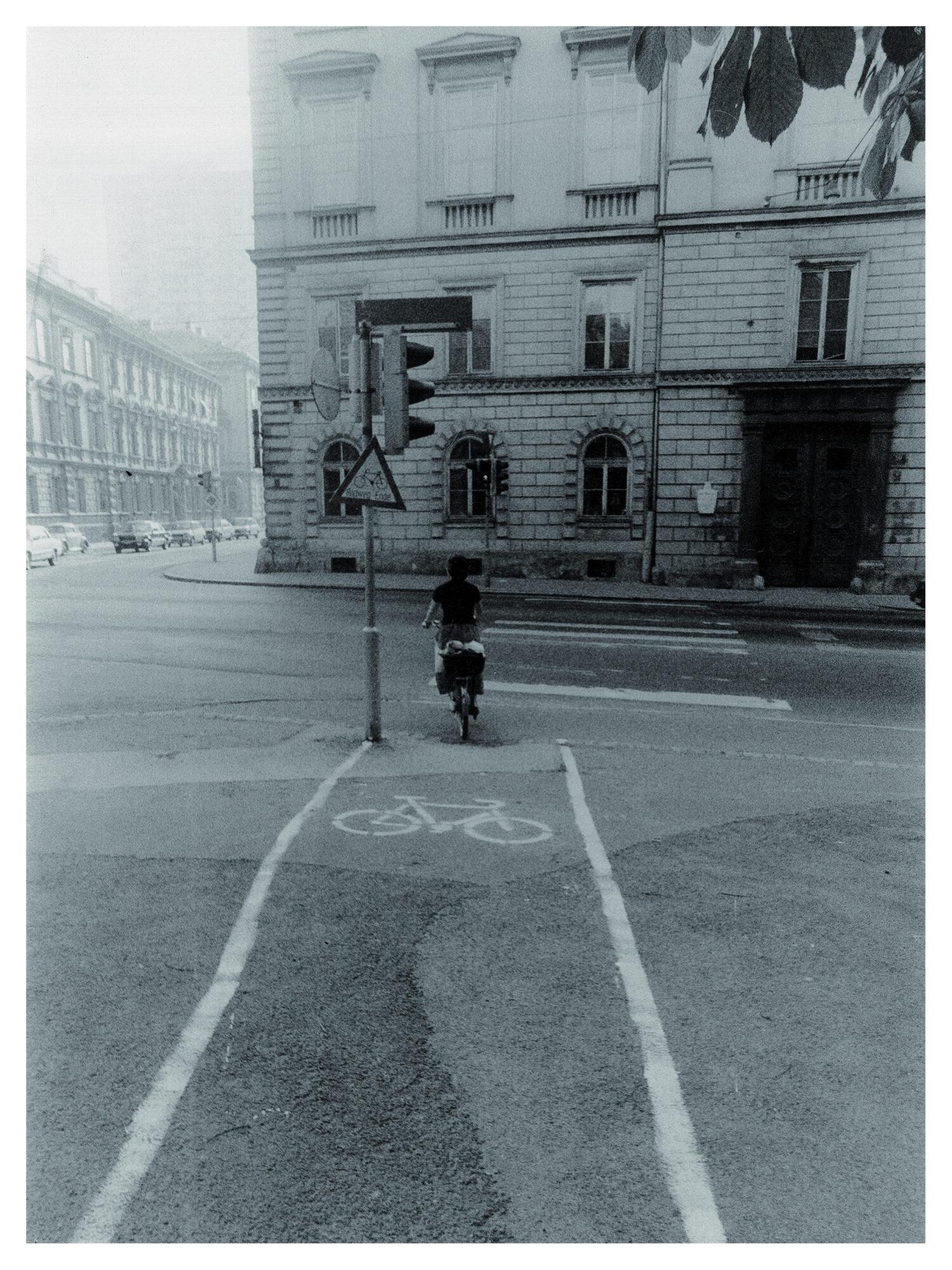 Der 1. Grazer Radweg Foto: Viktor Pölzl