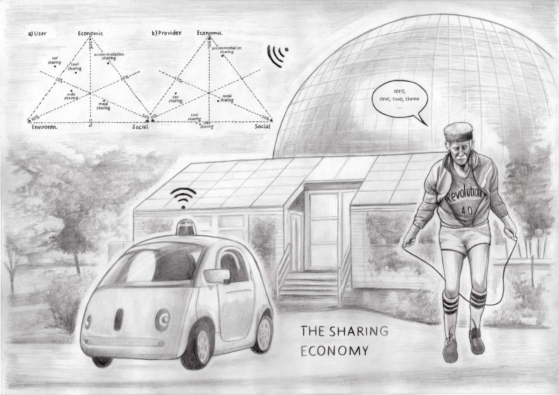 studio ASYNCHROME, The Sharing Economy, 2018 © Bildrecht, Wien, 2021