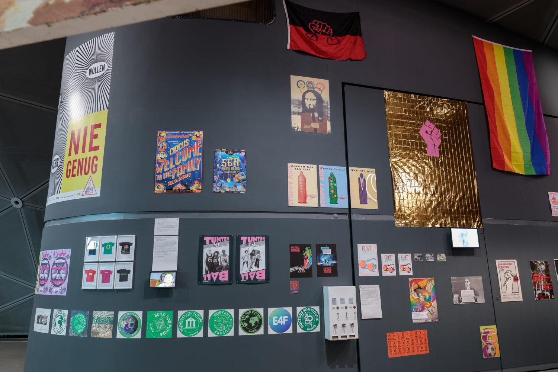 Aktivismen, 1979–2021 Foto: Kunsthaus Graz/N. Lackner