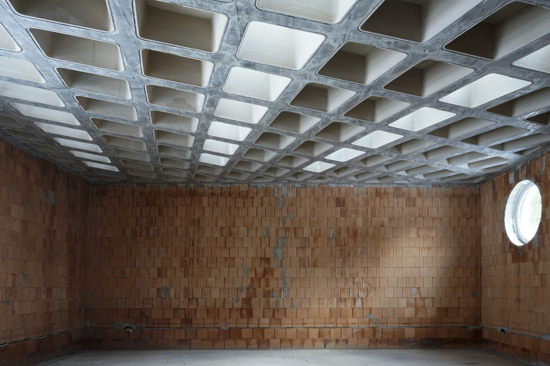 Atelierdecke Schloss Seehof Foto: Hans Kupelwieser © Bildrecht, Wien, 2021