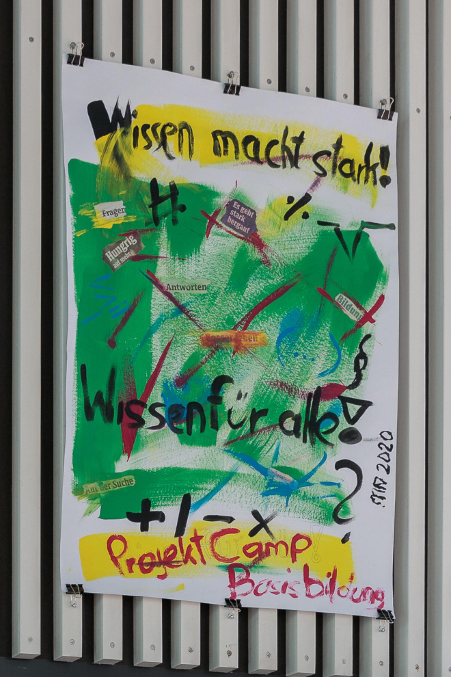 Basisbildung für alle, 2020 © City of Graz Men's Hostel