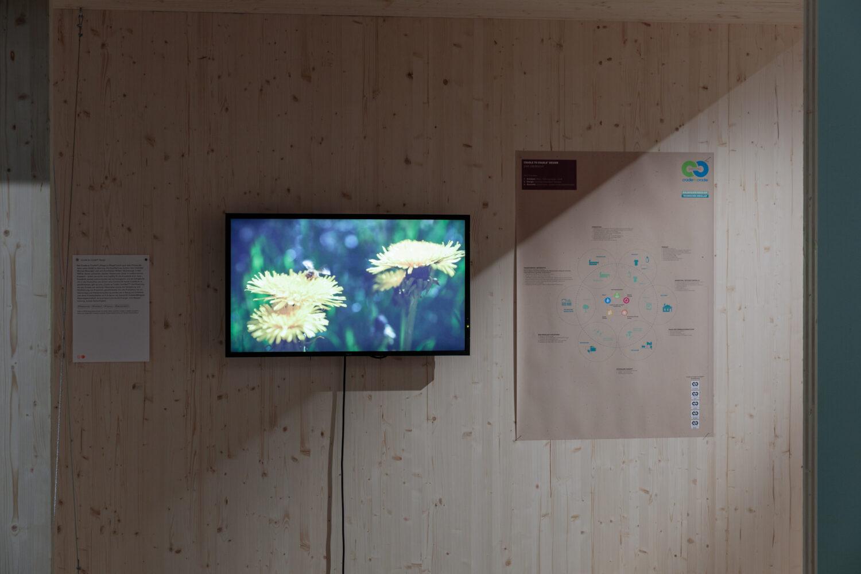 Cradle to Dradle Design Ausstellungsansicht, Foto: Kunsthaus Graz/N. Lackner