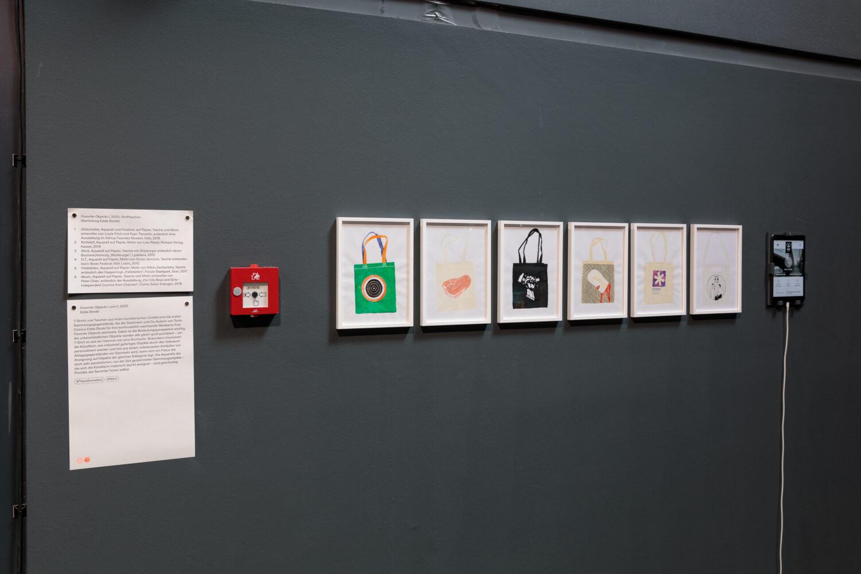 Edda Strobl, Favorite Objects I, 2020 Ausstellungsansicht, Foto: Kunsthaus Graz/N. Lackner