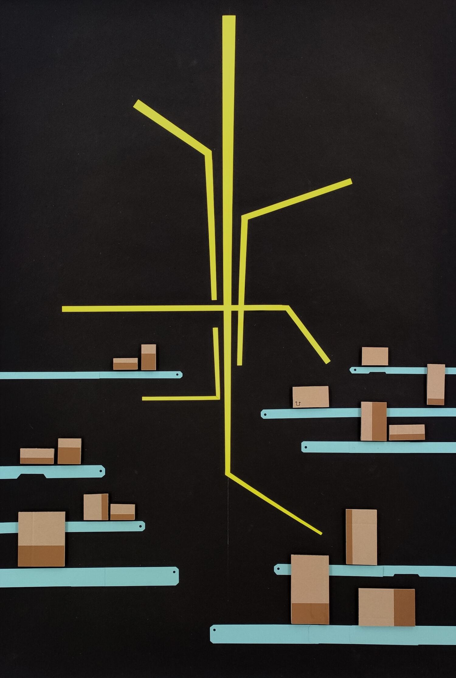 Michael Hieslmair/Michael Zinganel, Stoffwechsel. Infrastruktur. Lebensraum, 2021, © Michael Hieslmair/Michael Zinganel,  © Bildrecht, Wien 2021