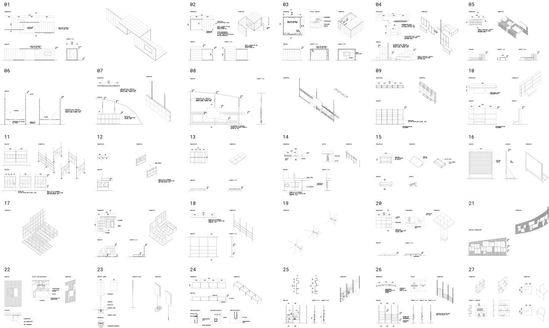 studio itzo, 27 x Display, 2021 © studio itzo