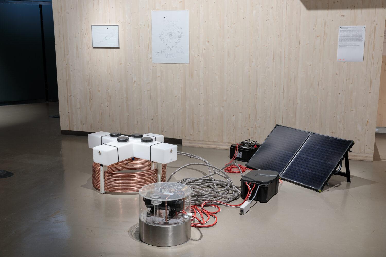 Expedition Re-Frost/Anthroprint, 2020-2021 Ausstellungsansicht, Foto: Kunsthaus Graz/N. Lackner