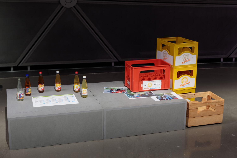 MAKAvA delighted Ausstellungsansicht, Foto: Kunsthaus Graz/N. Lackner