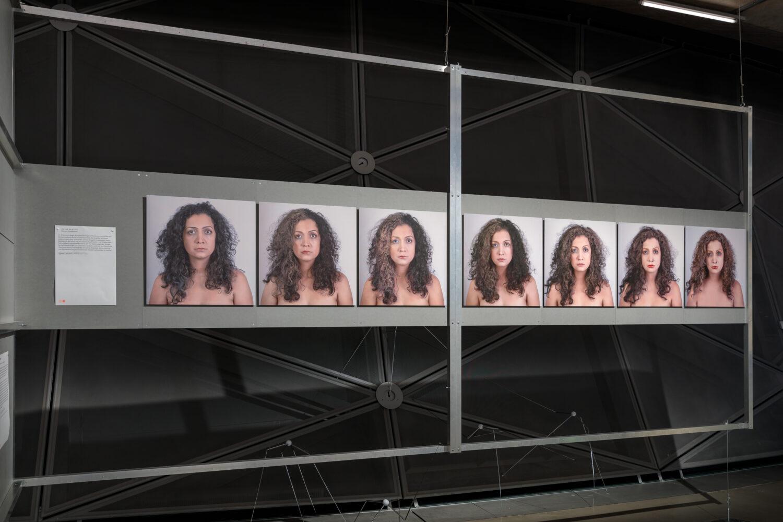 Maryam Mohammadi, It is -not- my Id!, 2013 Ausstellungsansicht, Foto: Kunsthaus Graz/N. Lackner