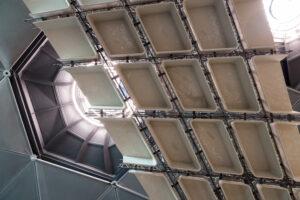 Institut für Tragwerksentwurf/TU Graz, 3-D-gedruckte Stahlbetonleichtbaudecken,  Foto: Kunsthaus Graz/Martin Grabner