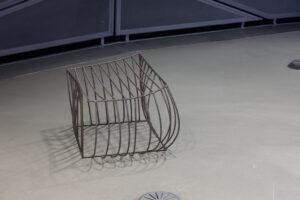 Lois Weinberger, Wild Cube Destroyed, 2009